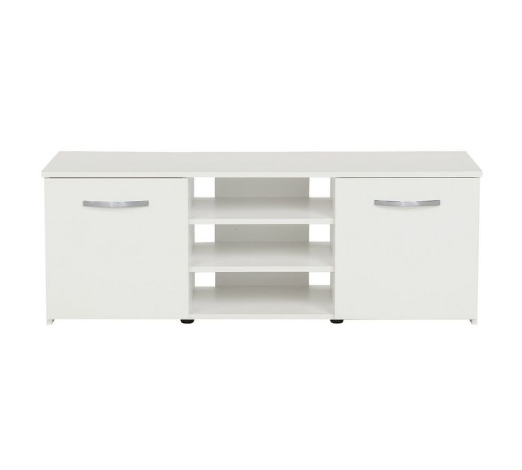 Buy Hygena Hayward 2 Door Small TV Unit - Black at Argos.co.uk, visit Argos.co.uk to shop online for Entertainment units and cabinets, Living room furniture, Home and garden