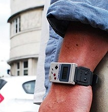 Who wouldn't want to rock a Gameboy Watch?! Check out this retro Gameboy wrist watch at http://www.bitrebels.com/technology/go-retro-with-the-game-boy-mini-watch/#    To see more HOT procrastination aids, watch NatandMarie.com!