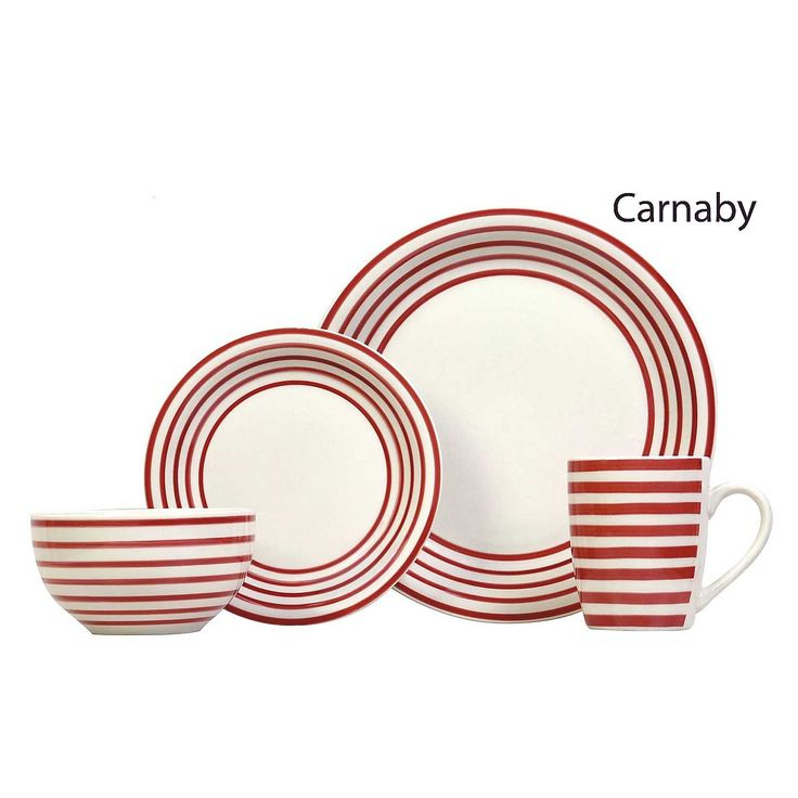 Sabichi 16 Piece Stoneware Dinner Set
