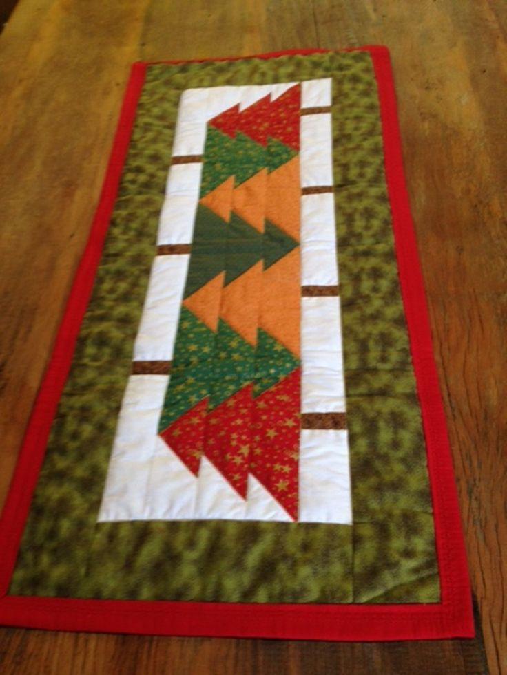 Caminho de mesa árvores de Natal