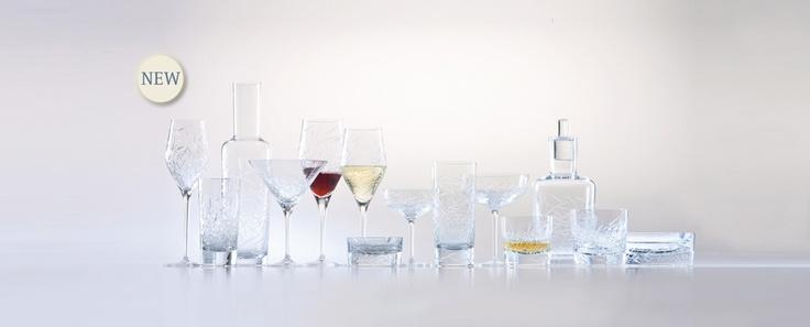Hommage Glace - kolekce z broušeného křišťálu, vyrobená ve spolupráci s mistrem barmanem, Charlesem Schumannem