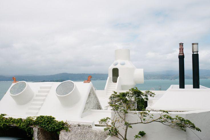 Ian Athfield NZ architecture - photograph by Jake Walker
