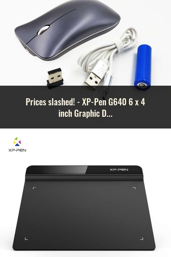 XP-Pen G640 6 x 4 inch Graphic Drawing Tablet for OSU