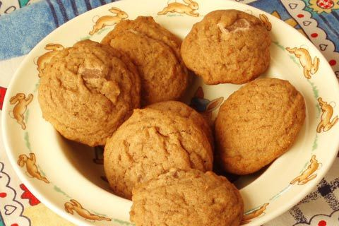 Milo biscuits - S African cookies made with milo drink mix