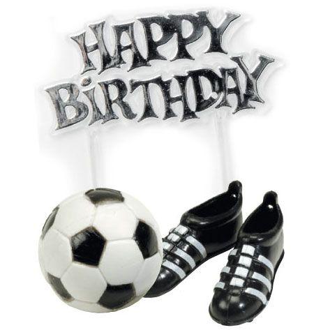 Kit de décorations foot pour l'anniversaire de votre enfant - Annikids