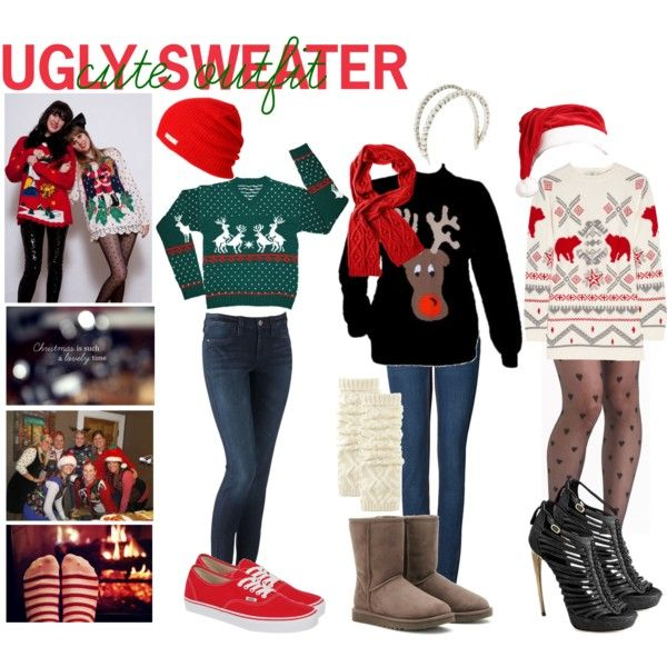Ugly Sweater = Cute Outfit | Season of Giving | Pinterest | Outfits, Ugly  sweater and Sweaters - Ugly Sweater = Cute Outfit Season Of Giving Pinterest Outfits