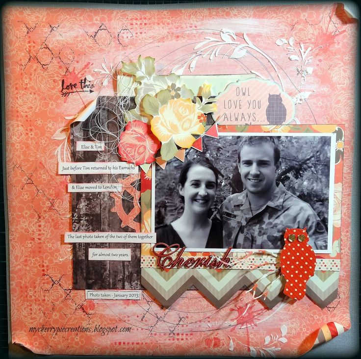 "Kaisercraft ""Sweet Pea"" papers http://www.mycherrypiecreations.blogspot.nl/2015/07/scrap-africa-sketch-challenge-54.html"