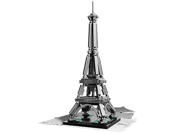 Build your own LEGO® interpretation of the iconic Eiffel Tower!