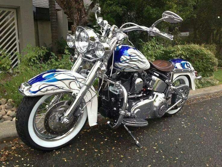 Classic Motorcycle Harley Davidson