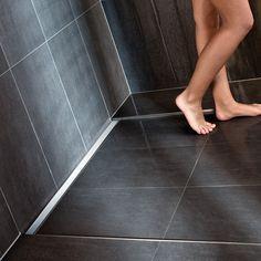 Beliebt: Geflieste bodenebene Duschen, z.B. mit Design-Duschrinne...