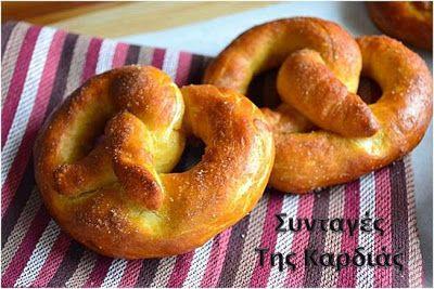 Εδώ και καιρό η κόρη μου μου ζητούσε επίμονα να της φτιάξω pretzels. Ψάχνοντας στο διαδίκτυο, πέτυχα μια συνταγή που μου άρεσε και έφτιαξ...