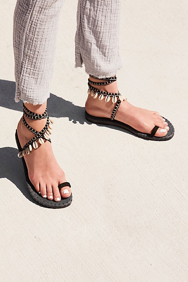 d84943af68917 From Free People, the Croatia Wrap Sandal. Such a beachy wrap sandal ...