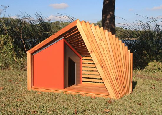 Dog house designs images galleries for Architecture and design dog house