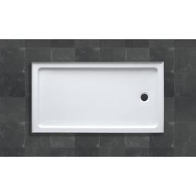 Ove Decors Sydney White Acrylic Shower Base (Common: 32-In W X 60-In L; Actual: 32-In W X 60-In L) Sydney-Bs60