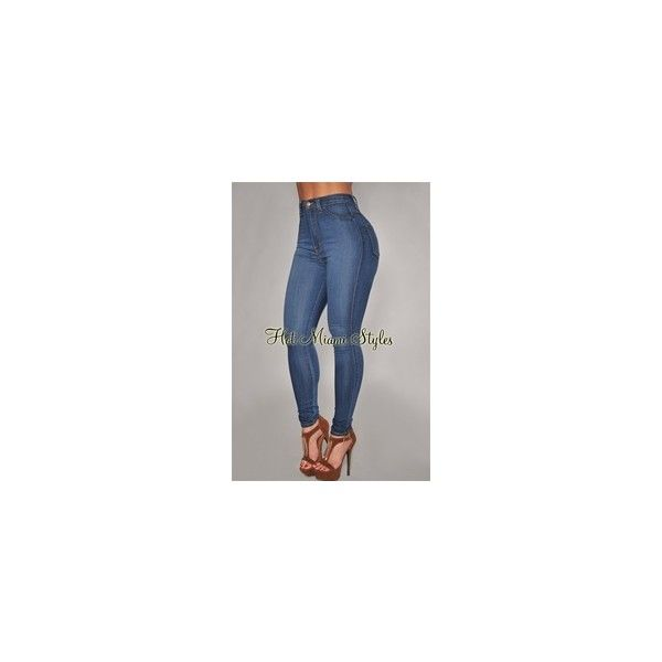 Cute Pants | Wet Leggings | Low Rise Jeans | Leggings | Sexy Pants ($50) ❤ liked on Polyvore featuring pants, jeans, blue capris, sexy capris, low rise pants, blue trousers and sexy capri pants