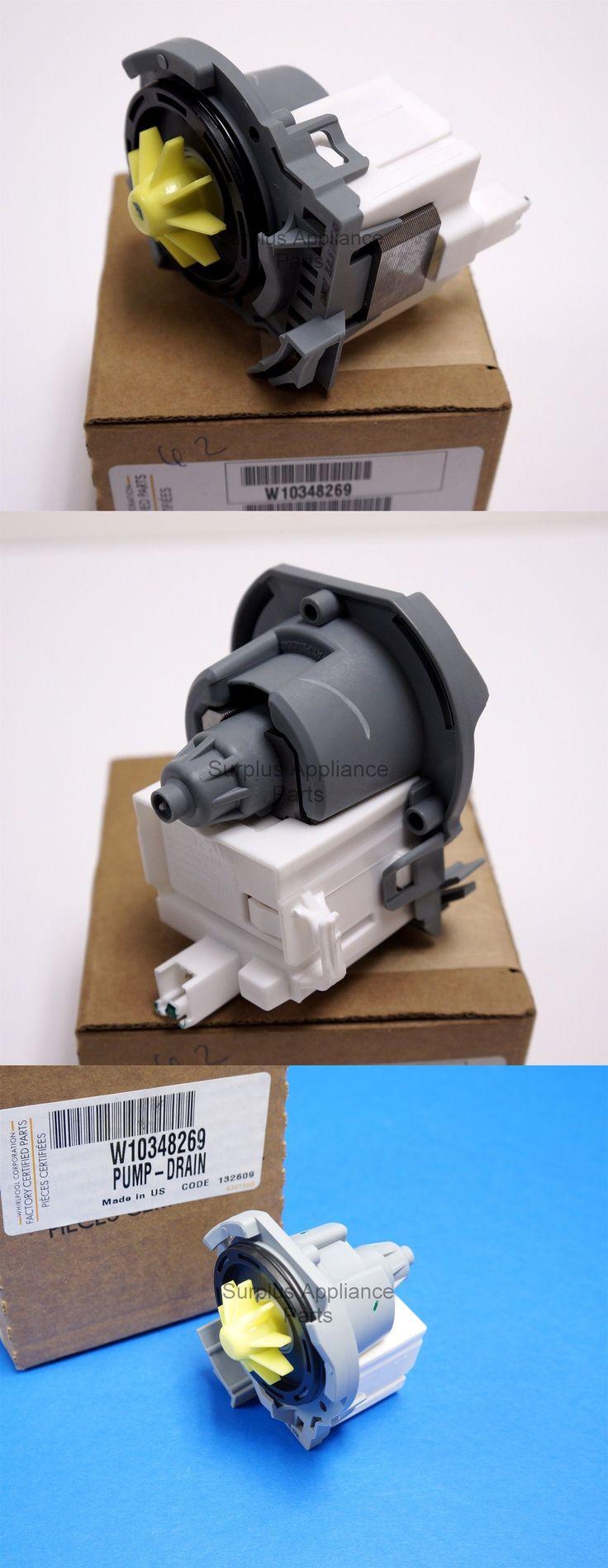 Major Appliances: Genuine Whirlpool Wpw10348269 Dishwasher Drain Pump W10348269 New Oem -> BUY IT NOW ONLY: $48.99 on eBay!