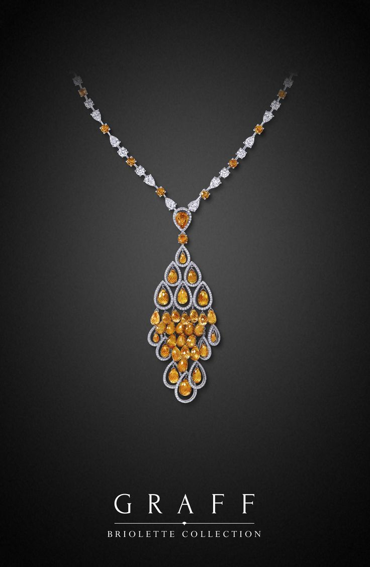Graff Diamonds: Briolette Necklace