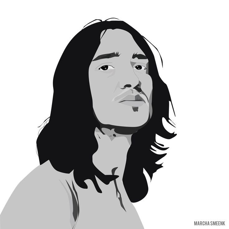 My illustration of John Frusciante