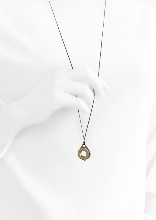 Jewelry collection 'type' by Julie van Hees / Photography Suzanne Jongmans