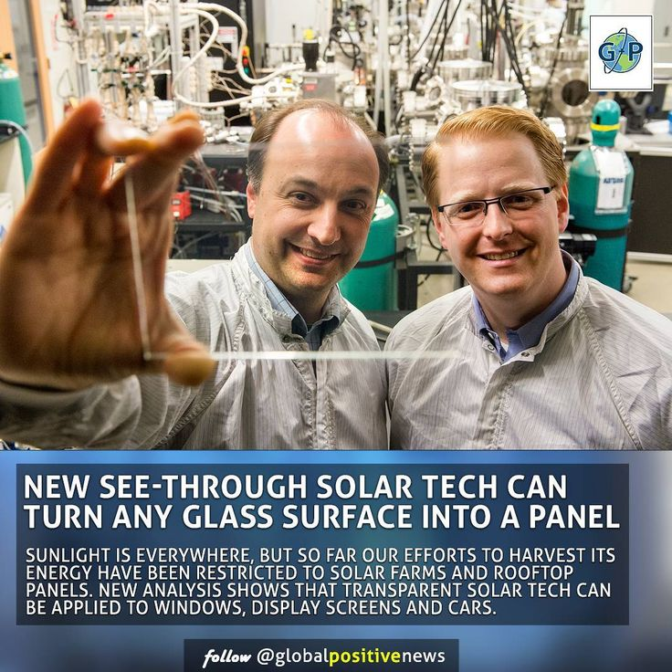 Scientists at Michigan State University recently published a paper in the online journal Nature Energy how highly transparent solar applications could nearly meet U.S. electricity demand and drastically reduce reliance upon fossil fuels.  The innovative technology offers a promising route to inexpensive widespread solar adoption on small and large surfaces that were previously inaccessible.