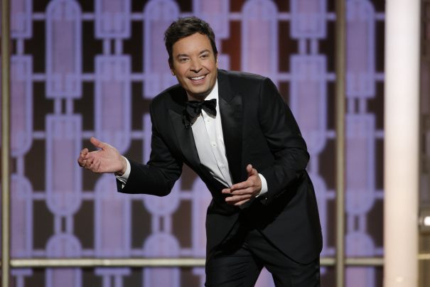 Golden Globes TV Review: Host Jimmy Fallon Flounders On Dull Awards Show