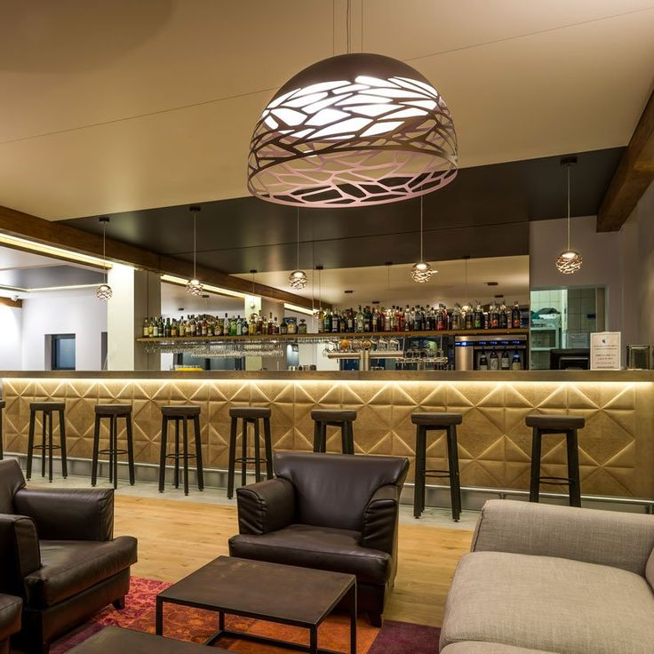 Kelly Cluster to decor piano bar... http://bit.ly/1U9C9up  Thanks to Byzance Design and Darc Magazine for the pic.  #kellycluster