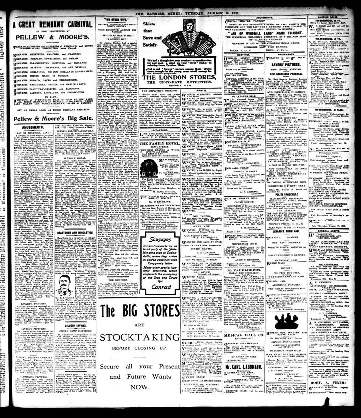 Barrier Miner (Broken Hill, NSW) - Australian Newspapers - MyHeritage