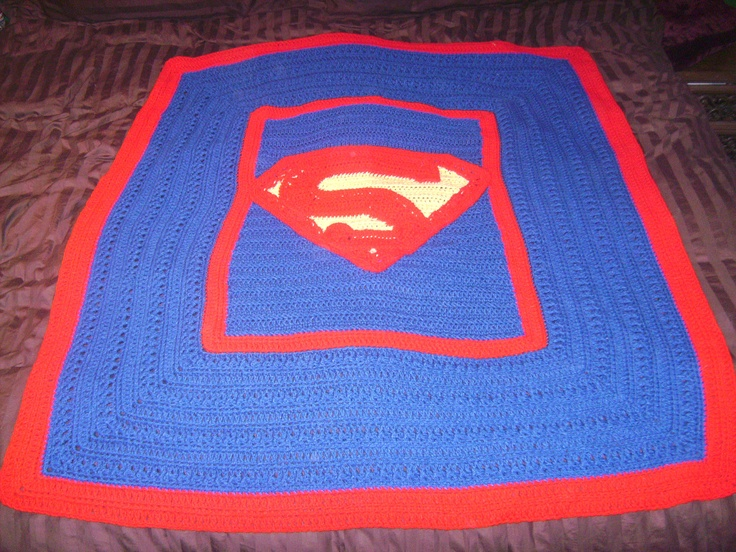 Superman Afghan By Snydesigns On Etsy