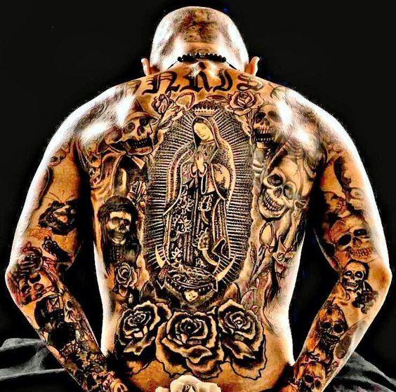 Cholo Tattoos Face: Pin On Tattoo