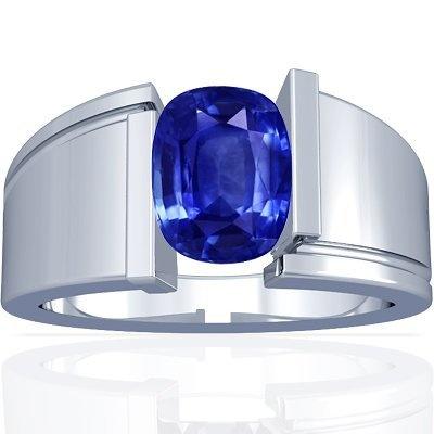 14K White Gold Cushion Cut Blue Sapphire Solitaire Ring GemsNY, http://www.amazon.com/dp/B006W3T9O2/ref=cm_sw_r_pi_dp_TB0Qqb0H9DPEH