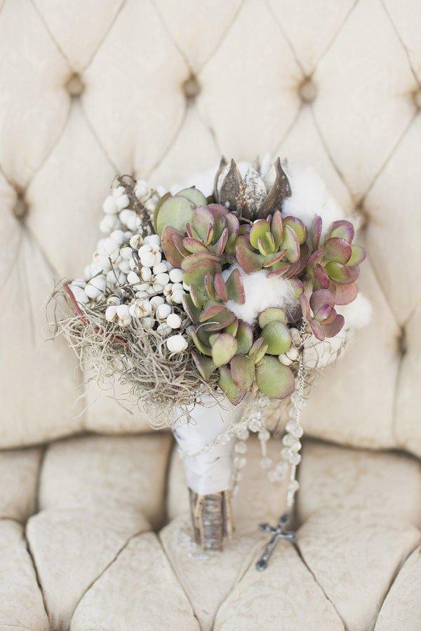 Cotton Wedding Bouquets & Centerpieces - Weddbook
