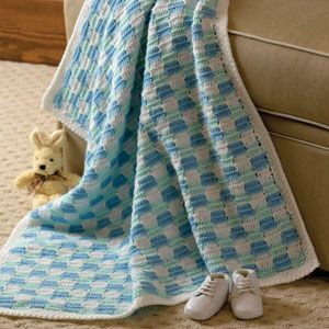 CHECKERBOARD BABY BLANKET PATTERN Free Baby Patterns