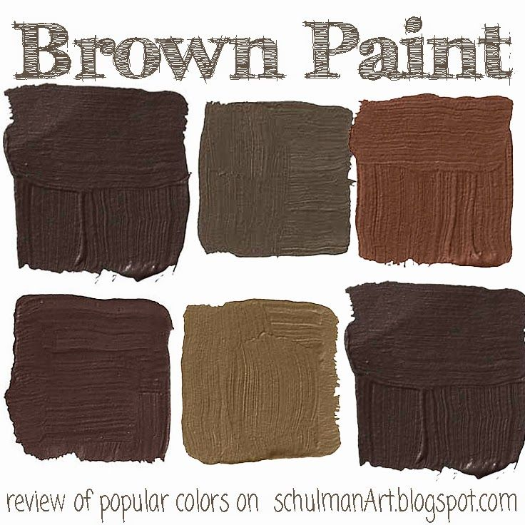 best brown paint color for your home | brown paint colors | paint swatches | decorating ideas on http://schulmanart.blogspot.com/2014/08/the-top-7-popular-brown-paint-colors.html