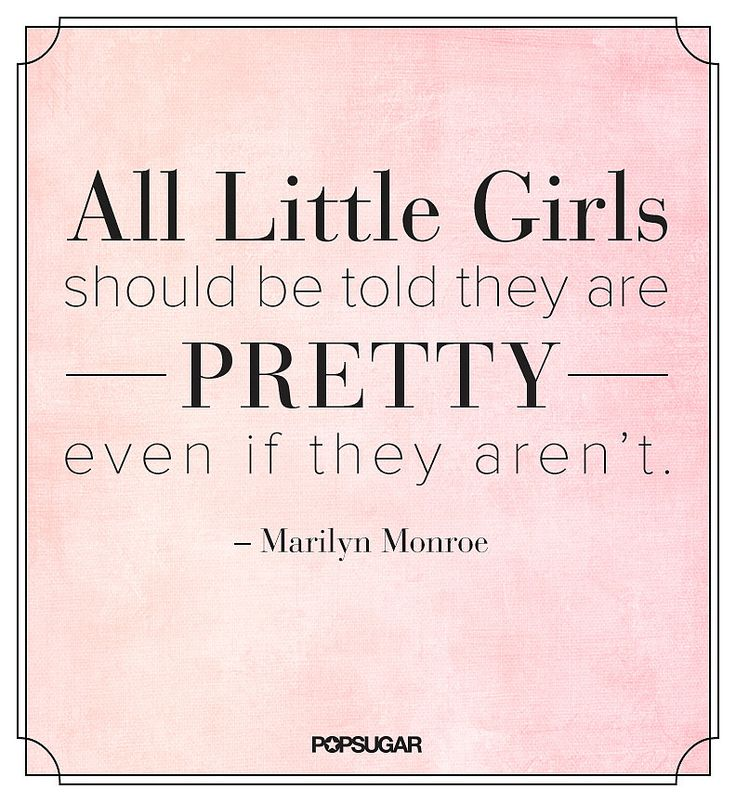 Never deny anyone the right to be beautiful.