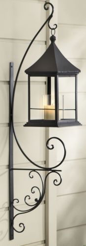 Candle Lantern Sconce!  Visit stonecountyironworks.com and let us bring your dream to life!