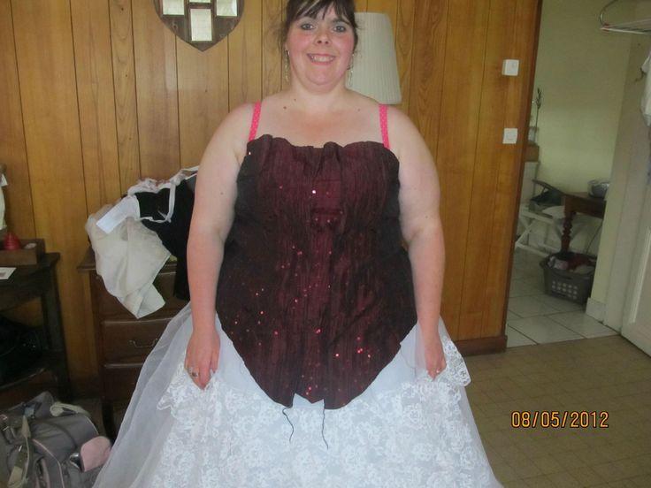 Robe de soiree mariage grande taille