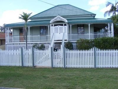 """""""Queenslander Houses"""" were built in an architectural style very popular throughout Queensland, from Brisbane in the south of the state to th..."""