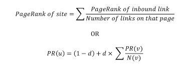 Le calcul du pagerank