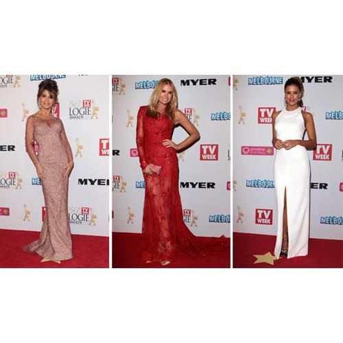 All the best red carpet looks from the 56th TV Week Logie Awards held at Crown Casino.