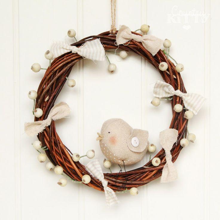Christmas White Wreath.