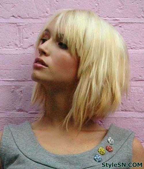 Short layered bob hairstyles 2014