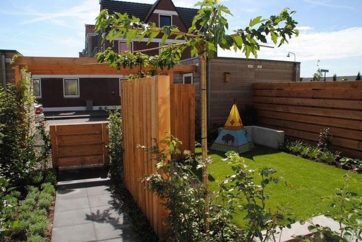 Middelgrote tuin 90 m2 #49