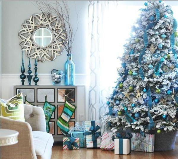 Christmas Tree Decorations Facebook: 25+ Best Ideas About Blue Christmas Tree Decorations On