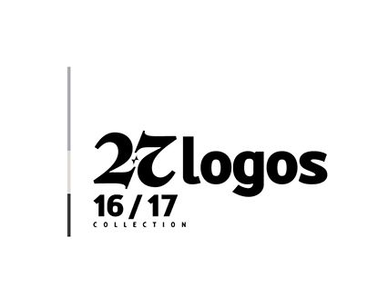 "Check out new work on my @Behance portfolio: ""27 Logos 