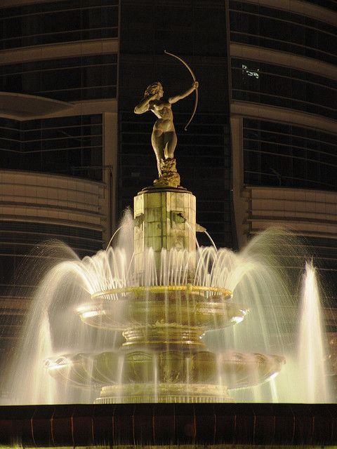 La Diana Cazadora fountain, Paseo de la Reforma, Mexico City, Mexico