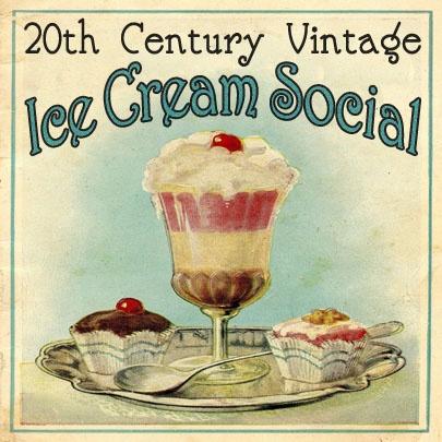 Vintage Ice Cream Social