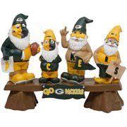 Green Bay Packers Gnome Fan Bench