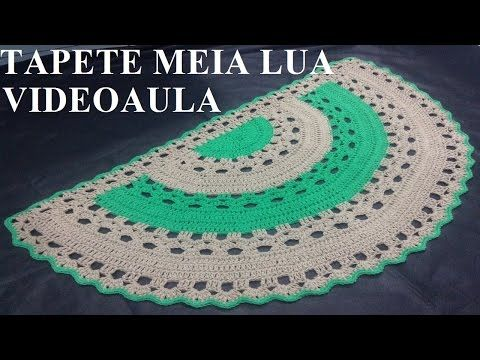 Tapete de crochê Ana Paula - YouTube http://youtu.be/ukPM0ehbgUo