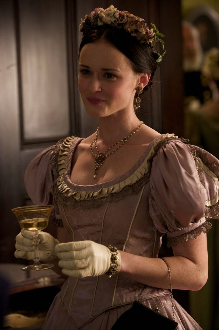 Alexis Bledel as Sarah Weston in The Conspirator (2010).