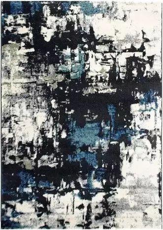teppich prime blau schwarz 160x230 cm jen tak pinterest gemusterte teppiche teppiche. Black Bedroom Furniture Sets. Home Design Ideas